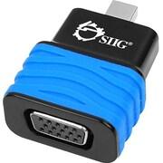 Siig® Mini DisplayPort 1.2 to VGA Adapter Dongle, Black/Blue