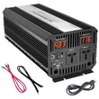 Pyle® Plug in Car 3000 W Power Inverter W/Modified Sine Wave, 12 VDC Input, 120 VAC Output, 3 Outlet