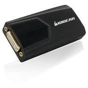 Iogear® USB 3.0 to DVI External Video Card, Black