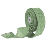 "Bags & Bows® 2"" x 10 Yds. Wired Burlap Ribbon, Green"