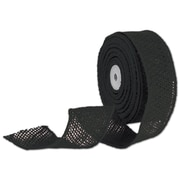 """Bags & Bows® 2"""" x 10 Yds. Wired Burlap Ribbon, Black"""