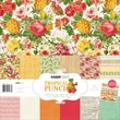 Kaisercraft 12in. x 12in. Paper Pack With Bonus Sticker Sheet, Tropical Punch, 12/Pack