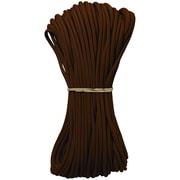 Pepperell Parachute Cord, 4 mm x 100', Dark Brown