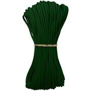 Pepperell Parachute Cord, 4 mm x 100', Kelly Green
