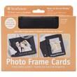 """Pro-Art Strathmore® 5"""" x 7"""" Cards & Envelopes, Black Photo Frame"""
