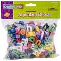 Chenille Kraft Creativity Street Lower Case Letter Beads, Assorted, 288/Pack