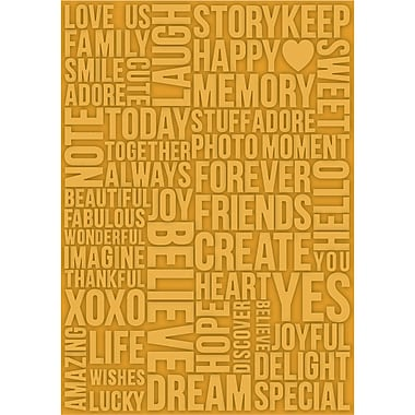 Craftwell eBosser Embossing Folders, Beautiful Words