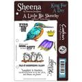 Crafter's Companion Sheena's A Little Bit Sketchy EZMount Stamp Set, King For A Day, 5 1/2in. x 8 1/2in.