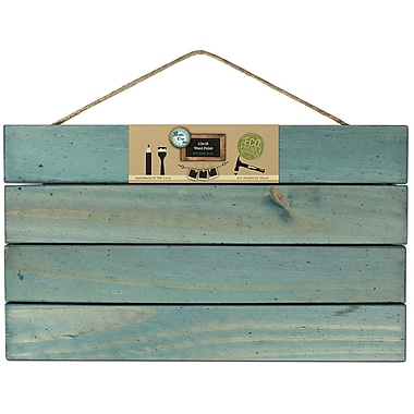 Bottle Cap Wooden Pallet, Weathered Blue, 10