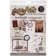 Debbi Moore Designs Shabby Chic Card Kit, Vintage Discovery