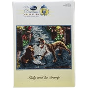 """M C G Textiles Latch Hook Kit, 27"""" x 20"""", Lady and The Tramp"""