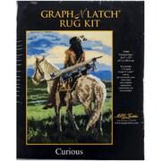 """M C G Textiles Latch Hook Kit, 26 1/2"""" x 35"""", Curious"""
