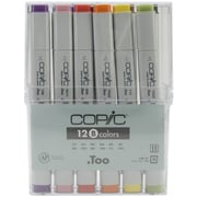 Copic Marker Permanent Marker, Assorted, 12/Pack