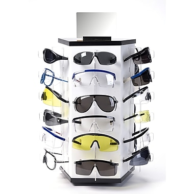 Mutual Industries LG Light Weight Eyewear Display With Glasses