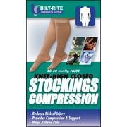 Bilt-Rite Mutual Knee High Black Stockings