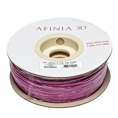 Afinia Value-Line H-Series 1.75mm ABS Plastic 3D Printer Filament, Purple