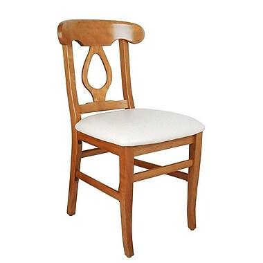 Beechwood Mountain Napolian Chenille Side Chair, Black
