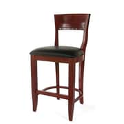 Beechwood Mountain Biedermier Faux Leather Counter Stools