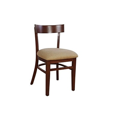 Beechwood Mountain Rectangle Back Autumn Side Chair, Cherry