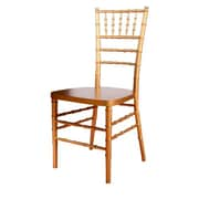 Beechwood Mountain Wood Stackable Ballroom Chairs, Gold