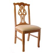 Beechwood Mountain Chippendale Microfiber Dining Chairs