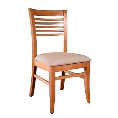 Beechwood Mountain Venetian Microfiber Side Chair, Natural