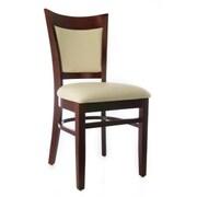 Beechwood Mountain Hyatt Faux Leather Side Chairs