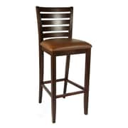 Beechwood Mountain Italy Solid Beechwood Barstool, Medium Oak
