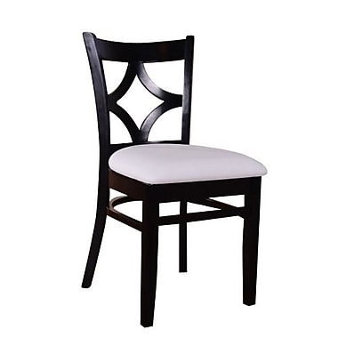 Beechwood Mountain Diamond Back Microfiber Side Chairs