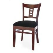 Beechwood Mountain Film Back Side Chair, Mahogany