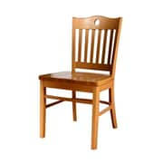 Beechwood Mountain Peek-A-Boo Wood Rachel Side Chair, Natural