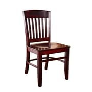 Beechwood Mountain Clayde Wooden Side Chair, Dark Mahogany