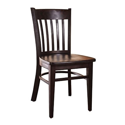Beechwood Mountain Denvor Solid Wood Side Chair, Walnut 1204310