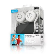 Noisehush® NS400 Bluetooth Stereo Headset, White