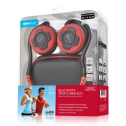 Noisehush® NS400 Bluetooth Stereo Headset, Black/Red