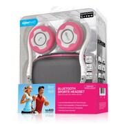 Noisehush® NS400 Bluetooth Stereo Headset, White/Pink