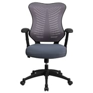 Flash Furniture BLZP806GY Mesh Office Chair, Gray