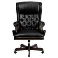 Flash Furniture CIJ600 LeatherSoft Traditional Executive Chair