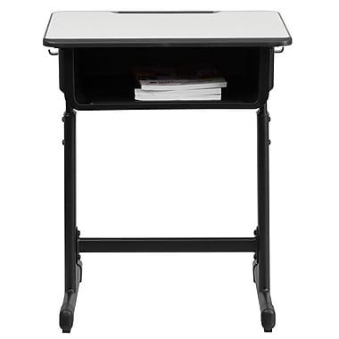 Flash Furniture 23.625'' Student Desk , Grey (YUYCY046)