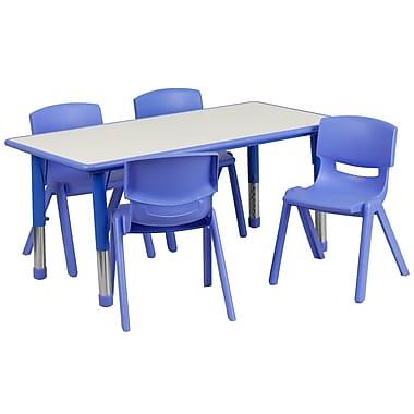 Flash Furniture YU06034RECTBLBL 23.63