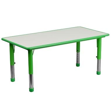 Flash Furniture YU060RECTBLGN 23.63
