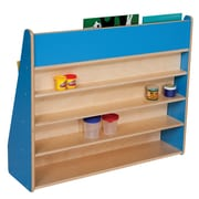 Wood Designs Book Display Stand; Blueberry
