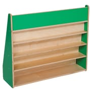 Wood Designs Book Display Stand; Green Apple