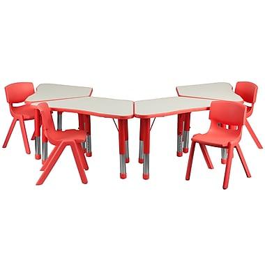Flash Furniture YU09134TRPTBLRD 21