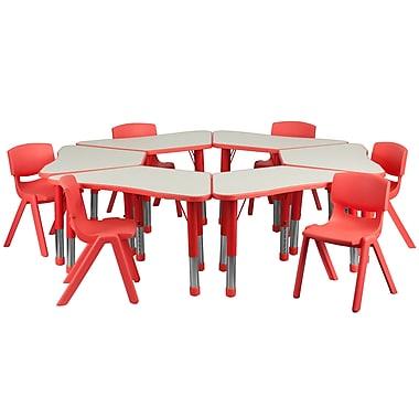 Flash Furniture YU09136TRPTBLRD 21