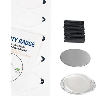 The Mighty Badge 901722 Name Tag Starter Kit For Laser Printer, 1.7