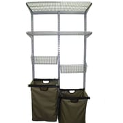 Storability 1690 33L x 63H Utility Storage System, Gray