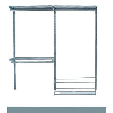 Storability 1730 Closet Organizer Kit, Silver