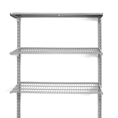Storability 3-Shelf Wall Mount Unit, Gray (1795)