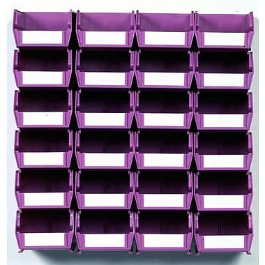 LocBin Wall Storage Small Bins, 3